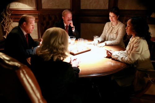 Scandal - the conspiracy table