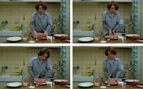 Delphine Seyrig in Jeanne Dielman (Chantal Ackerman, 1975)